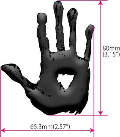 画像3: ブラッディ血飛沫-ハンドプリント