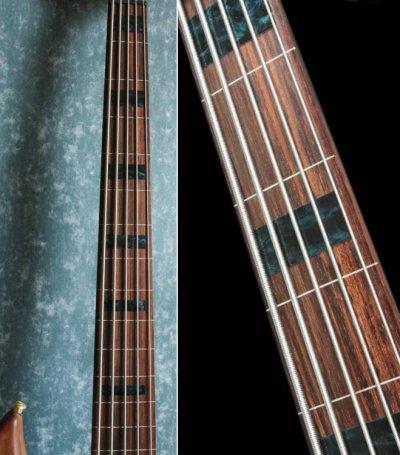 画像2: ジャズ・ベース・ブロック(BLACKパール) 5弦ベース用