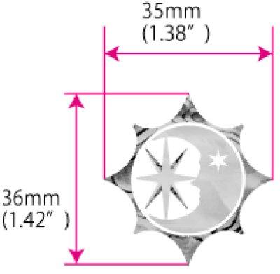 画像5: 太陽、月、星 シンボル