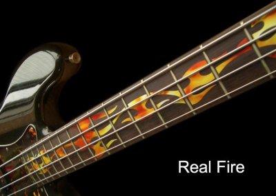 画像3: ベース用-ファイアー・フレイム (Real Fire)