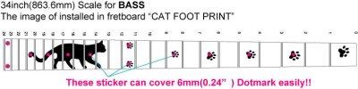 画像4: ベース用-猫足/ BLACKパール
