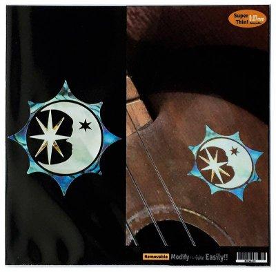 画像1: 太陽、月、星 シンボル